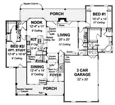 Country style floor house blueprint *****