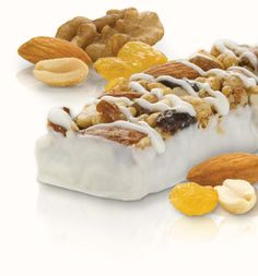 Fruit & Nut Bar. The new breakfast sensation! Plump golden raisins ...