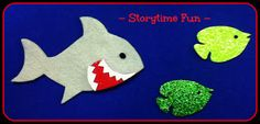 Five Little Fishes from StorytimeABC's