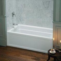 kohler bathtubs expanse 5 ft left hand drain acrylic bathtub in white