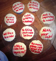 Been baking for @StratfordBandB guests with @SophieKelland #cakespeare. @Ellabelle87