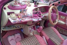 Hmmm hello @Jordan Lachemann    hello-kitty-car-interior  http://blogs.phoenixnewtimes.com/jackalope/2012/05/three_signs_youre_a_cat_person.php#    (Article written by my sister @Katie Johnson )