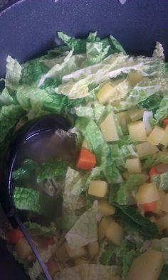 Wirsing-Kartoffel-Eintopf #silkeskoestlichkeiten #vegetarisch