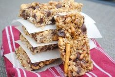 make your own granola bars