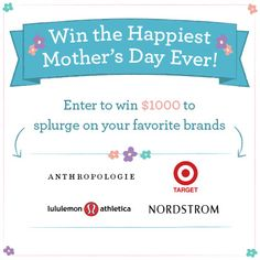 Win the Happiest Mother's Day Ever! from Kiwi Crate