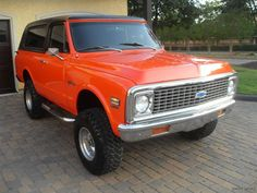 1972 chevy blazer.....Ahhhh this is exactly what i want!