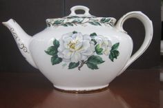 Royal Albert China Lady Clare Teapot Signed