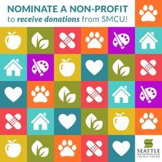 Nominate your favorite local non-profit to be a 2015 Feel Good Checking partner! Each time a Feel Good Checking account is opened, we donate $20 to one of our seven partners. Submit your nominations at http://www.smcu.com/cfc.