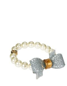Ted Baker Bow And Pearl Bracelet