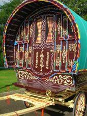 English Gypsy caravan, Gypsy Wagon, Gypsy Waggon and Vardo: Photograph Gallery 1