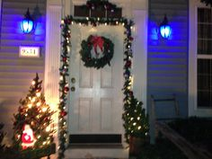 My Christmas outdoor decorations:)