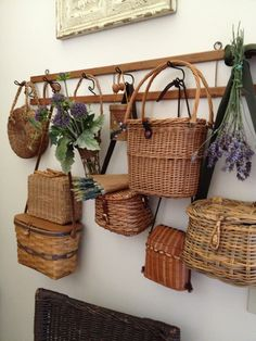 Wall of baskets~