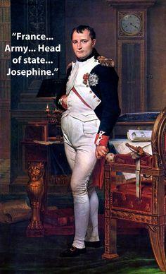 Napoleon Bonaparte. Last words