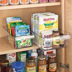 Kitchen & pantry organization!
