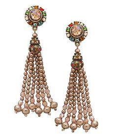 http://www.maxandchloe.com/Ben-Amun-Multi-Stone-Brass-Dangle-Earrings