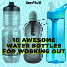 10 Water Bottles That Actually Work While You're Exercising