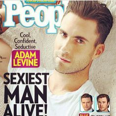 Adam Levine is Peoples SEXIEST MAN ALIVE