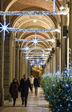 Christmas in Bologna, Italy