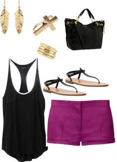 """""""Summertime outfit"""" by jesslew-jl on Polyvore"""