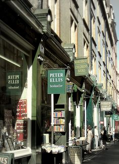Cecil Court, London-    Very atmospheric Victorian facades filled with unique independent shops, Cecil Court, which is a walkway, is a rare survival of earlier days, in the middle of the busy London of today.