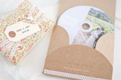 Fácil y Sencillo: Empaquetado para un DVD con Fotos de Boda 1