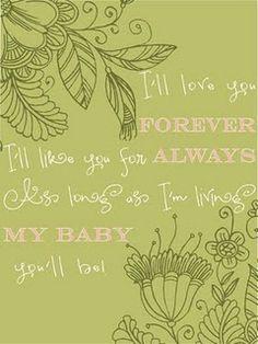 Baby room love