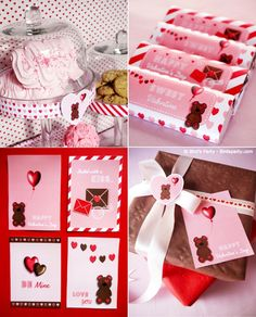 Cookies and Milk Valentine's Day Party and Desserts Table Ideazs #cookies #milk #cookiesandmilk #cookiesmilkparty #valentinesday #valentines #printables #valentinescrafts #valentinesprintables #valentinesdayparty #valentinesparty #dessertstable
