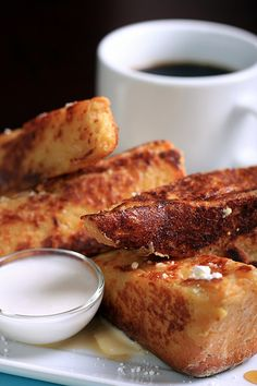 Olives for Dinner | Vegan Recipes and Photography: Creme Brulee French Toast