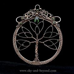 Rowan Delight Of The Eyes  Tree of Life with by SkyAndBeyond, $260.00