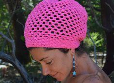 Neon Pink Love Your Locs by Earthia Crochet Dreadlock by Earthia, $26.00