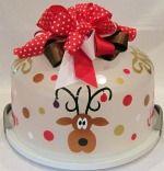 Reindeer Cake Carrier