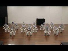 Aldebaran Robotics Nao Robot Dance Show
