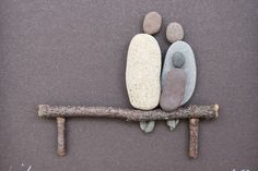 craft, camping projects, pebbl art, nova scotia, famili, rock, nativity scenes, stone art, pebble art