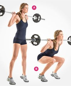 7 Types of Squats You Should Be Doing | Women's Health Magazine /dhw: won't b doing #6 w/out getting input on form.