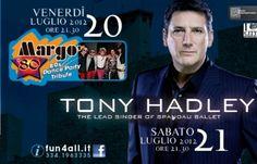 Tony Hadley degli Spandau Ballet con la sua band in concerto a San Marino