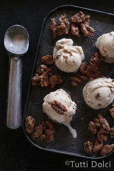 brown butter & candied pecan ice cream