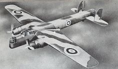 Great Britain's Armstrong Whitworth Whitley Bomber