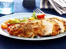chicken breasts, chicken recipes, chicken crusted parmesan, parmesancrust, food, parmesan crust, dinner tonight, crust chicken, meal