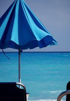 mar azul...