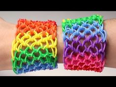 Rainbow Loom Nederlands - Dragon Scale || Loom bands, rainbow loom, nederlands, tutorial, how to