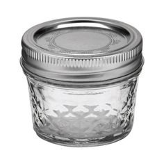 Ball® 4oz Regular Mouth Quilted Crystal Mason Jars (144080400) - 12 Pack - Canning Jars, Kits & Accessories - Ace Hardware