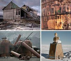 Desolate Desertions: 7 Abandoned Wonders of Antarctica