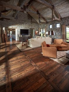 Great lines but like to see color, golds, purples, rose + rust shades. Inspiring Pallet Wood Floor that will never age.