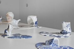 THE SPILLING, BROKEN CERAMICS OF LIVIA MARIN