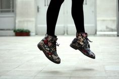 Flower Power Dr Martens
