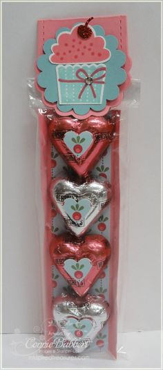 Two Tag candy holder