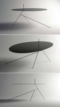 Chiuet Table by Jeong Seung Jun  Calderesque.
