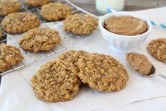 Biscoff Pumpkin Oatmeal Cookies (vegan)