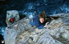 """Linn Hill climbing """"free route"""""""