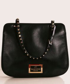 Valentino Punk Couture Studded Tote Bag